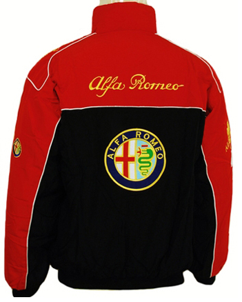 Alfa Romeo Jacket Model B Easy Rider Fashion